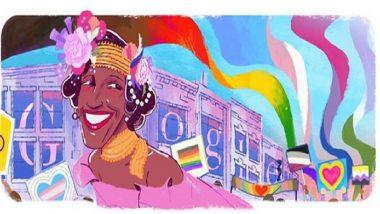 मार्शा पी. जॉन्सन यांच्या स्मरणार्थ Google Doodle; जाणून घ्या कोण होते Marsha P. Johnson