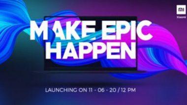 Xiaomi कंपनीचा पहिला लॅपटॉप Mi Notebook येत्या 11 जूनला होणार लॉन्च, 12 तासापर्यंत बॅटरी कायम राहणार