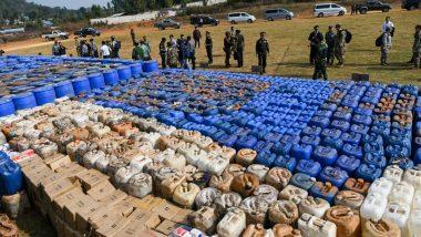 म्यानमारमध्ये आशियामधील सर्वात मोठ्या ड्रग रॅकेटचा पर्दाफाश; दाऊद इब्राहिमच्या D-Company चे कनेक्शन असल्याची शक्यता