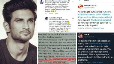 Sushant Singh Rajput Suicide: सुशांत सिंह राजपूत च्या निधनानंतर करण जोहर आणि आलिया भट्ट वर का भडकले नेटकरी? (See Tweets)