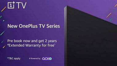 OnePlus Smart TV चे प्री बुकींग अॅमेझॉन इंडियावर सुरु; कसं आणि कधी पर्यंत कराल प्री बुकींग? जाणून घ्या