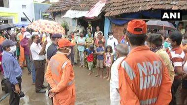 'निसर्ग 'चक्रीवादळाच्या पार्श्वभुमीवर पालघर येथील समुद्र किनापरट्टीलगतच्या 13 गावांमधील नागरिकांना NDRF कडून हलवण्यात येणार
