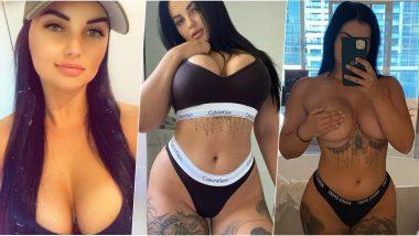 Porn Star Renee Gracie चे Sex Videos घालत आहे OnlyFans वर धुमाकूळ; जाणून घ्या या Hot XXX Star चे खरे Instagram, Facebook आणि Twitter खाते