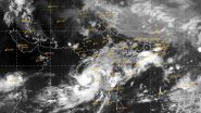 Cyclone Nisarga Live Satellite Map and Tracking: महाराष्ट्र किनारपट्टीवरील लँडफॉल आणि पावसाच्या अंदाजासाठी, जाणून घ्या 'निसर्ग चक्रीवादळा'चा मार्ग व त्याचा वेग