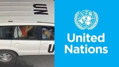 UN च्या अधिकाऱ्याचा भर रस्त्यात Car Sex करतानाचा व्हिडीओ होतोय व्हायरल; संयुक्त राष्ट्र तर्फे तपास सुरु