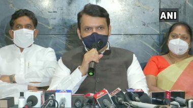 अनलॉक-2 म्हणजे काय? विरोधीपक्षनेते देवेंद्र फडणवीस यांचा महाराष्ट्र सरकारला सवाल