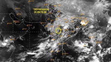 Cyclone Nisarga Update: निसर्ग चक्रीवादळाचा जोर ओसरला; विदर्भ, मराठवाड्यात आज पावसाची शक्यता - हवामान खात्याचा अंंदाज