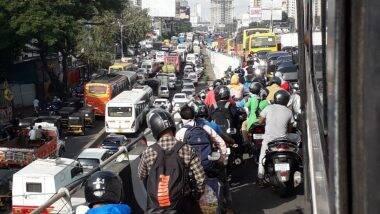 Mumbai Traffic Update: इमारतीचा भाग कोसळल्याने टर्नर रोड जंक्शन व एसव्ही रोड, बांद्रा परिसर ठप्प; सांताक्रूझच्या दिशेने जाणारा मार्ग, BEST Bus मार्ग वळविला