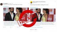 नाही, विराट कोहली व अनुष्का शर्मा घटस्फोट घेत नाहीत! फेक बातम्या आणि #VirushkaDivorce ट्रेंड पसरवणे थांबवा