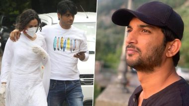 Sushant Singh Rajput Demise: सुशांत सिंह राजपूत च्या आत्महत्येनंतर Ex- Girlfriend अंकिता लोखंडे हिने घेतली त्याच्या परिवाराची भेट (See Photos)