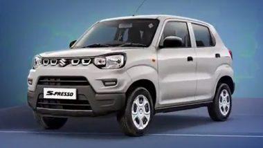 Maruti Suzuki S-Presso CNG Car: मारुती सुझुकी ची सीएनजी, एस-प्रेसो कार लाँच; जाणून घ्या किंमत आणि फिचर्स
