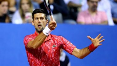 Novak Djokovic tests positive for Covid19: टेनिस खेळाडू नोवाक जोकोविच याला कोरोनाची लागण; 14 दिवस होम क्वारंटाईन