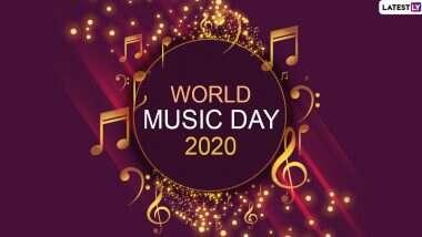 Happy World Music Day 2020 Wishes: 'जागतिक संगीत दिना'चे औचित्य साधून, ग्रिटिंग्स, SMS, Wishes, Images, WhatsApp Status, Facebook Images च्या माध्यमातून शुभेच्छा देऊन साजरा वर्ल्ड म्युझिक डे!