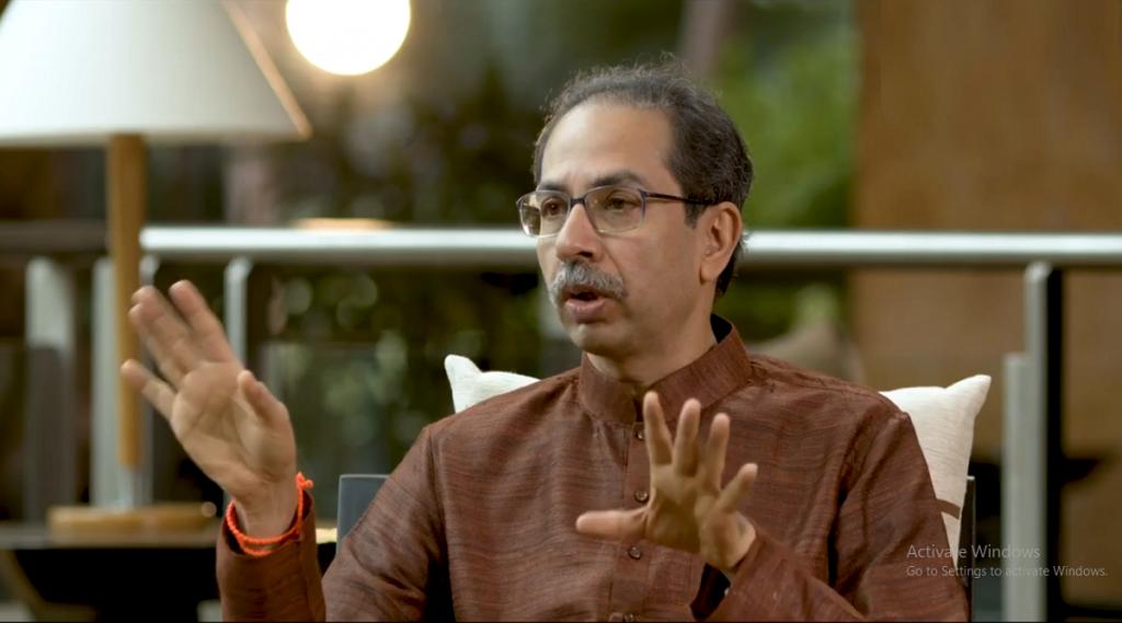 CM Uddhav Thackeray Interview: तुम्हाला 'यम' हवा की 'संयम' हवा- मुख्यमंत्री उद्धव ठाकरे