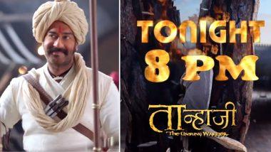 'तान्हाजी: द अनसंग वॉरियर' या चित्रपटाचा आज स्टार प्लस वर वर्ल्ड प्रिमियर; अभिनेता अजय देवगण शेअर केला हा खास व्हिडिओ