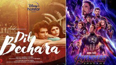 सुशांत सिंह राजपूत च्या शेवटच्या 'Dil Bechara' चित्रपटाच्या ट्रेलरने बनवला नवा रेकॉर्ड; हॉलिवूडच्या एवेंजर्स: इन्फिनिटी वॉरला सुद्धा टाकले मागे