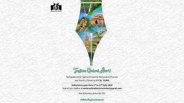 महाराष्ट्र पर्यटनावर आधारित नवीन घोषवाक्य निर्मितीसाठी 'महा टूरिझम' मार्फत महा टॅगलाईन स्पर्धचे आयोजन