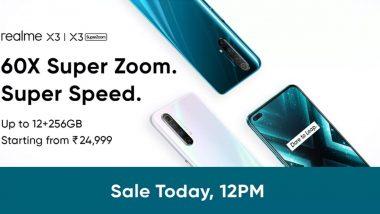 Realme X3 चा आज Flipkart वर फ्लॅश सेल, दुपारी 12 वाजल्यापासून सुरु होणार विक्री