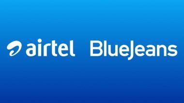 एअरटेलने सादर केली BlueJeans नावाची व्हिडिओ कॉन्फरन्सिंग सेवा; JioMeet, Zoom शी होणार टक्कर