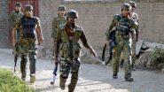 जम्मू काश्मीर: हंदवाडा येथील नौगाम सेक्टर मधील LOC जवळ झालेल्या चकमकीत 2 दहशतवाद्यांचा खात्मा; दोन AK-47 जप्त