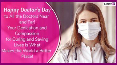 Doctor's Day 2020 HD Images: राष्ट्रीय डॉक्टर दिनाच्या शुभेच्छा खास WhatsApp Stickers, Messages, Wallpapers, Greetings च्या माध्यमातून देऊन माना तुमच्या आयुष्यातील डॉक्टरांचे आभार
