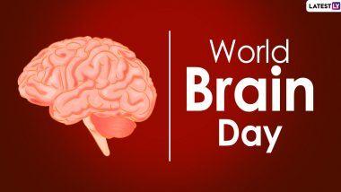 World Brain Day 2020: जागतिक मेंदू दिन यानिमित्ताने जाणून घ्या दिवसाचे महत्त्व, इतिहास आणि थीम!
