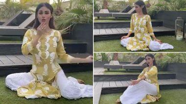 Mouni Roy ने ऐश्वर्या राय बच्चन हिच्या ताल चित्रपटातील 'या' लोकप्रिय गाण्यावर केला डान्स; Watch Viral Video