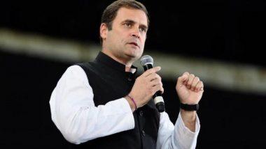 Bihar Assembly Election 2020: बिहार विधानसभा निवडणुकीसाठी जागावाटपाचे सूत्र लवकरच जाहीर- राहुल गांधी