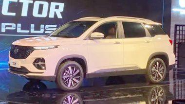 MG Hector Plus SUV भारतात लॉन्च, जाणून याची वैशिष्ट्ये आणि किंमतीविषयी