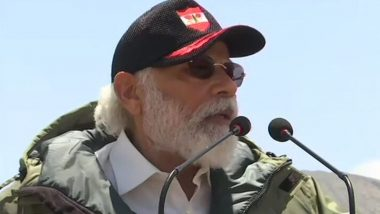 PM Narendra Modi Leh Visit: विस्तारवादामुळे जगाचं मोठं नुकसान, आता विकासयुग सुरू झालंयं; PM नरेंद्र मोदी यांनी वाढवलं भारतीय जवानांचं मनोधैर्य