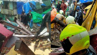 मुंबई: मालाड मध्ये मालवणी परिसरात दुमजली चाळीचा भाग कोसळला; बचावकार्य सुरू