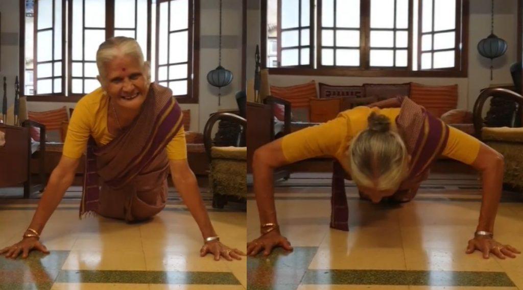 Usha Soman 81st Birthday: मिलिंद सोमणची आई उषा सोमण यांनी 15 पुशअप्स घालत साजरा केला आपला 81 वा वाढदिवस; पहा तरुणांनाही लाजवेल असा Video