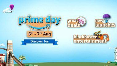Amazon Prime Day Sale 2020: भारतात 6 ऑगस्टपासून होणार 'अॅमेझॉन प्राईम डे  सेल'ला सुरुवात; 'या' आहेत आकर्षक ऑफर्स