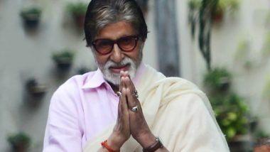 कोरोना व्हायरस विरुद्ध लढणाऱ्या अमिताभ बच्चन यांनी शुभेच्छांसाठी मानले सर्व चाहत्यांचे आभार! (View Tweet)