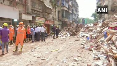 Mumbai Building Collapse Update: फोर्ट येथील भानुशाली इमारतीचा भाग कोसळल्याच्या दुर्घटनेत 9 जणांचा मृत्यू, NDRF ची माहिती