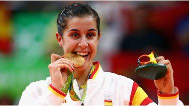 Coronavirus: 'माझी सगळी पदकं तुमची', ऑलिम्पिक 'गोल्डन गर्ल' कॅरोलिना मारिनचा करोनाशी सामना करणाऱ्या योद्धांना सलाम