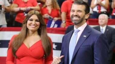 Donald Trump Jr यांची गर्लफ्रेंड Kimberly Guilfoyle ला कोरोना विषाणूची लागण; सध्या दोघेही आयसोलेशनमध्ये