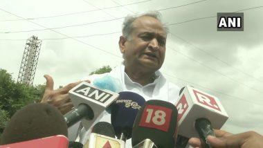 Rajasthan Political Crisis: CBI, IT,ED संस्थांच्या माध्यतून देशात गुंडागर्दी, भाजपच्या मदतीने सचिन पायलट 6 महिन्यांपासून षडयंत्र रचत होते  - अशोक गहलोत