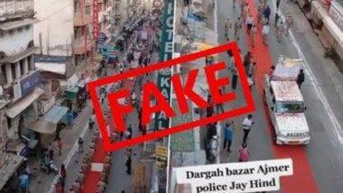 राजस्थान पोलिसांनी लॉकडाऊननंतर 'अजमेर शरीफ दरगाह'ला दिली भेट? अमजेर पोलिसांनी दिले 'हे' स्पष्टीकरण
