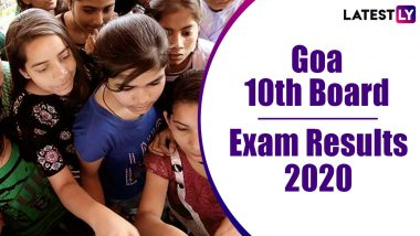 Goa SSC Results 2020: गोवा बोर्ड 10 वीचा निकाल जाहीर; gbshse.gov.in वर पहा मार्क्स