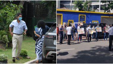 World Cup 2011 Final Fixing Investigation: कुमार संगकाराची कसून चौकशी, संतप्त चाहत्यांचा क्रीडा मंत्रालय कार्यालयाबाहेर निषेध