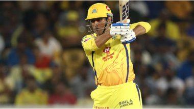 MS Dhoni: राजस्थान रॉयल विरुद्ध अखेरच्या षटकात आक्रमक फलंदाजी करणारा चेन्नई सुपर किंग्जचा कर्णधार महेंद्रसिंह धोनी सोशल मिडियावर अधिक चर्चेत
