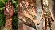 Bakrid 2020 Simple Mehndi Designs: आपल्या हातावर काढा या नवीनतम आणि आकर्षक मेहंदी डिझाईन्स काढून साजरा करा ईद अल-अधाचा उत्सव, या व्हिडिओ आणि फोटोतून घ्या मदत