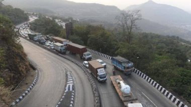 Mumbai- Pune Traffic Update: मुंंबई पुणे एक्स्प्रेस वे वर खोपोली जवळ उलटला तेलाचा टॅंकर, वाहतुक विस्कळीत