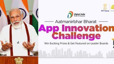 Aatmanirbhar Bharat App Innovation Challenge: पीएम नरेंद्र मोदी यांनी दिले Made in India Apps तयार करण्यासाठी खास चॅलेंज; मिळणार 20 लाख रुपयांचे बक्षीस