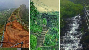 Monsoon Trek मिस करताय? मुंबई, पुणे, रायगड लगतच्या गड किल्ल्यांचे 'हे' खास फोटो पाहून आठवणी होतील ताज्या (Photos Inside)