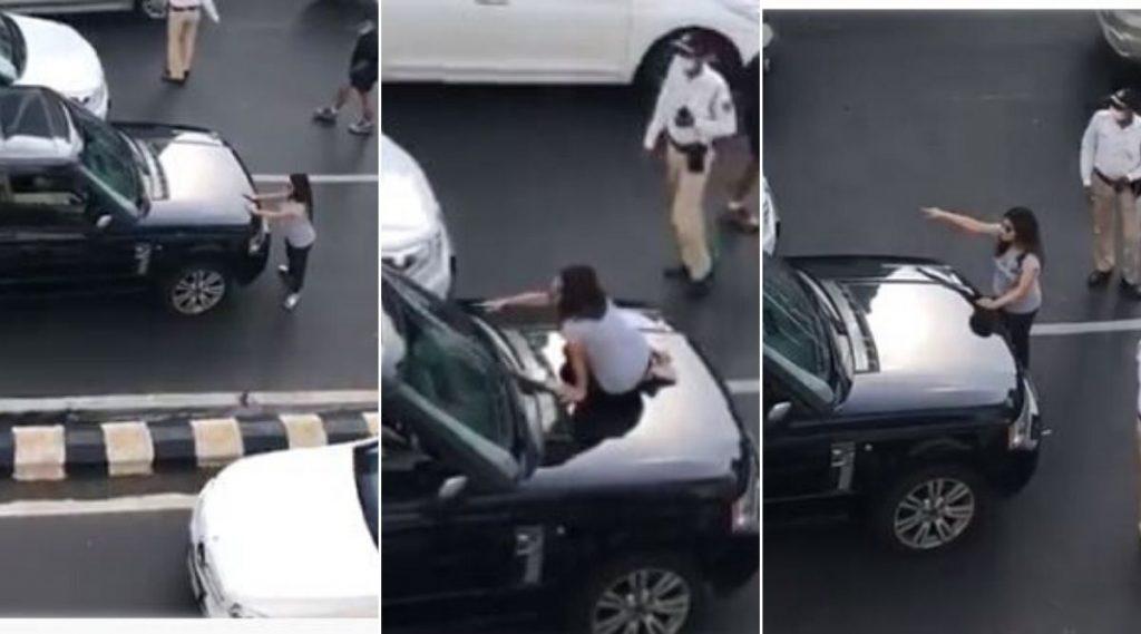 मुंबई: ट्रॅफिक मध्ये नवरा बायकोचा ड्रामा; पतीला कार मध्ये दुसऱ्या गर्लफ्रेंड सोबत बघून गाडीवर चढली पत्नी (Watch Video)