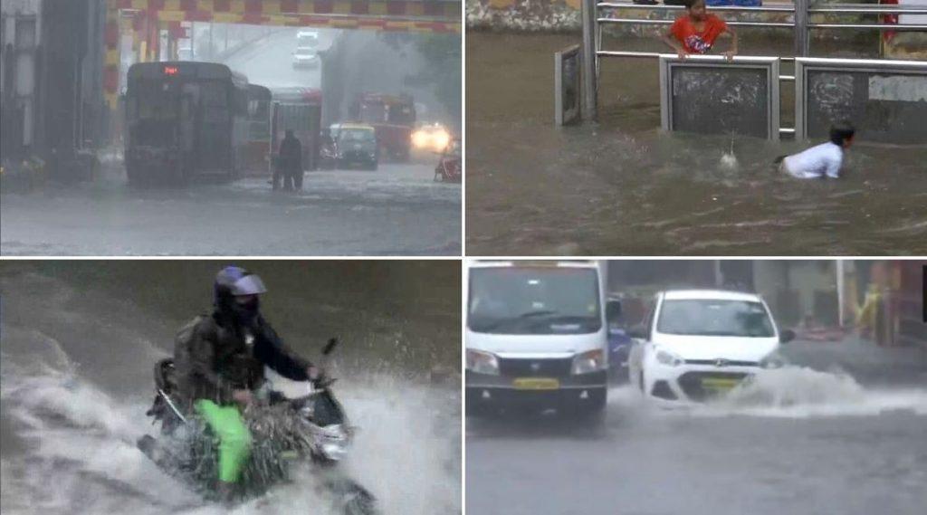 Mumbai Rains Video: मुंबईत मुसळधार पावसामुळे हिंदमाता आणि किंग्ज सर्कल भाग झाले जलमय (See Photos)