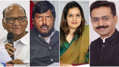 Rajyasabha MP Oath Ceremony: शरद पवार, उदयनराजे भोसले, रामदास आठवले पुन्हा खासदार; राजीव सातव यांचा दिल्लीत मराठी बाणा