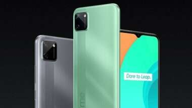 Realme C11 Launched in India Today: रिअलमी सी11 स्मार्टफोन केवळ 7,499 रुपयांमध्ये भारतात लॉन्च
